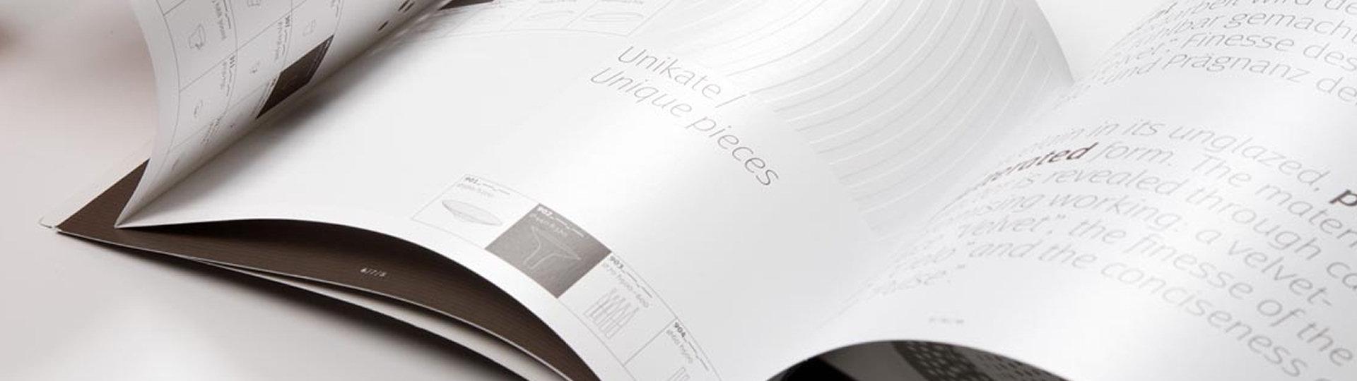 Realizzazione di Cataloghi, brochure e riviste