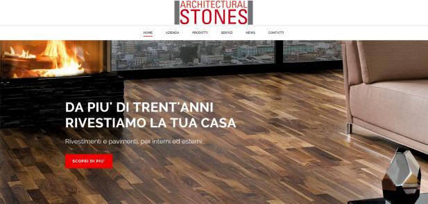 Architectural Stones - Realizzazione sito web vetrina