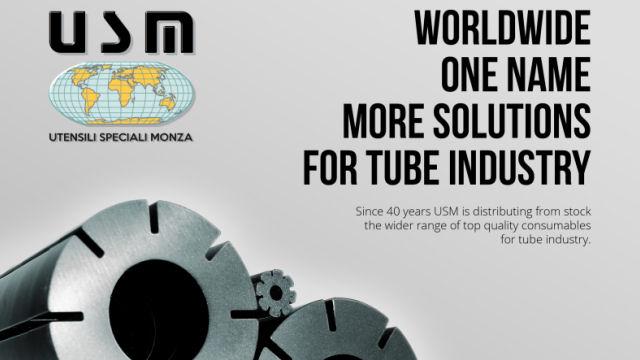 USM - Realizzazione pagina pubblicitaria