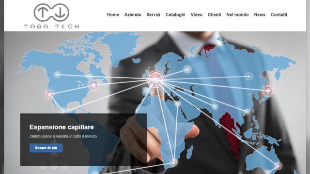 Taba Technologies - Realizzazione sito web