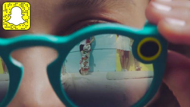 Snapchat lancia Spectacles  i nuovi social glasses
