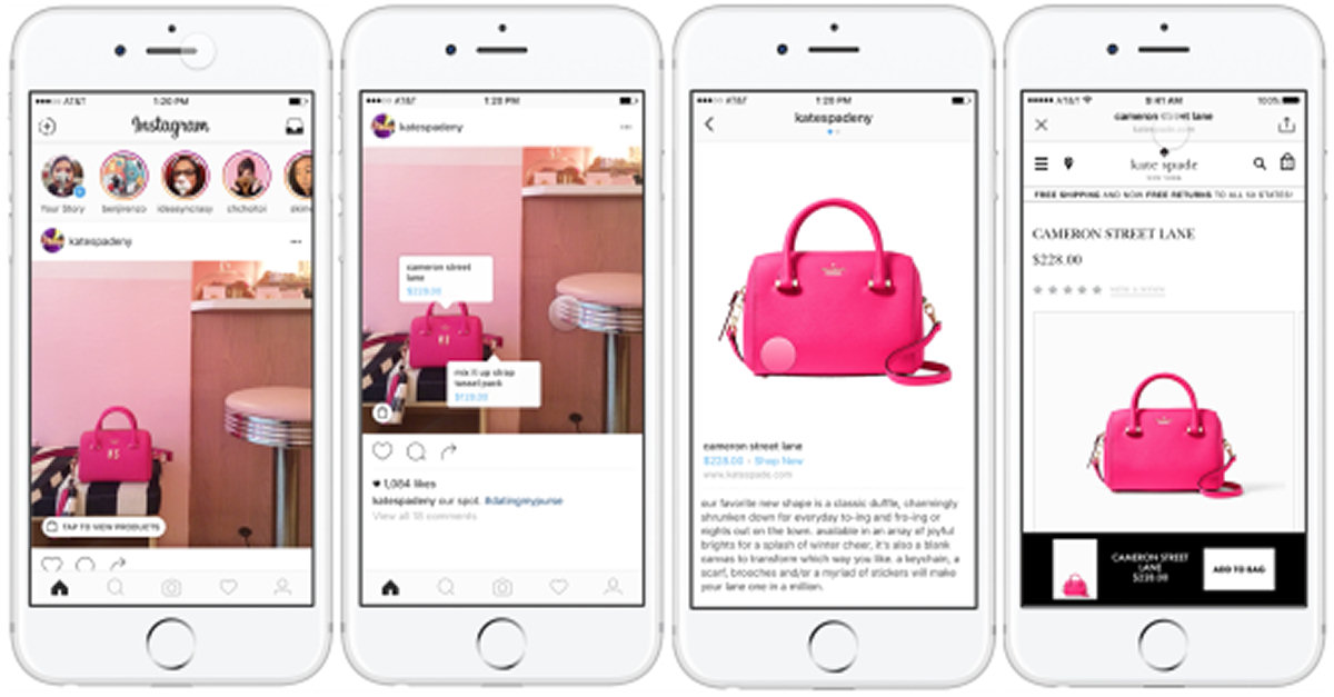 Lo shopping arriva anche su Instagram