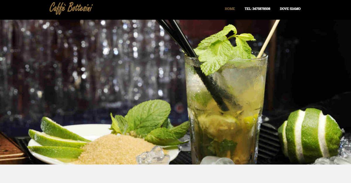 Caffè Bottesini - Realizzazione sito web e campagne social