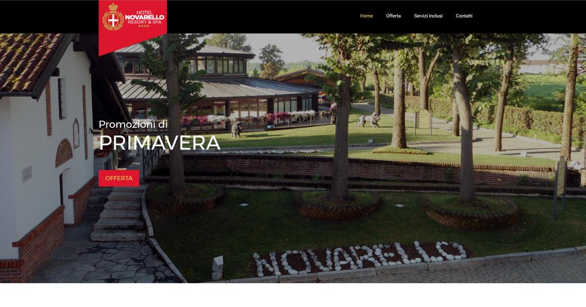 Hotel Novarello Resort Spa - Campagna promozione di primavera