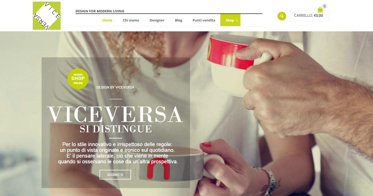 VICEVERSA - Realizzazione E-shop